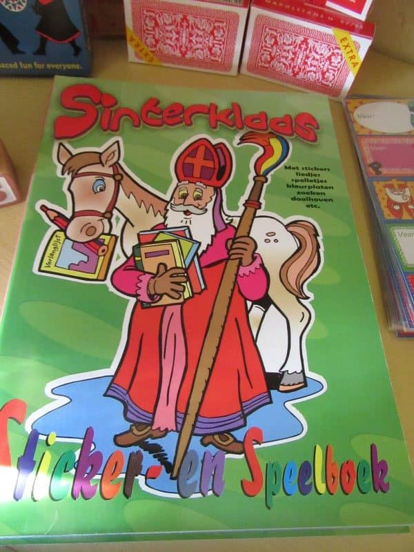 Sinterklaas Activity Book