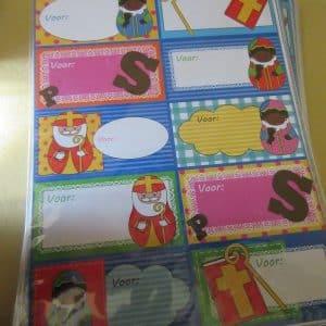 Sinterklaas parcel labels