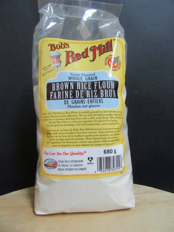 Bob's Red Mill Stoneground whole grain brown rice flour