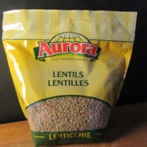 Aurora Lentils