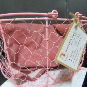 Pink Egg basket