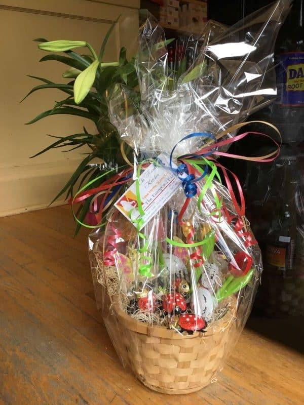 gift basket Easter