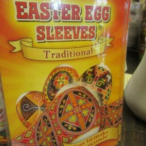 Easter Egg decorating sleeves